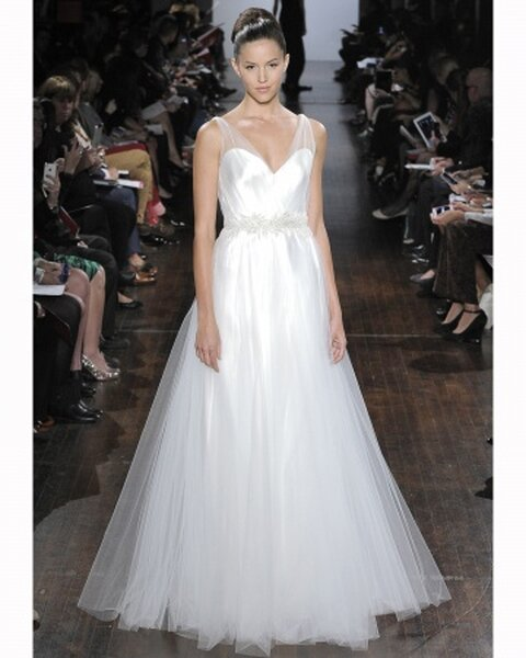 Austin Scarlett Fall 2013 wedding dress