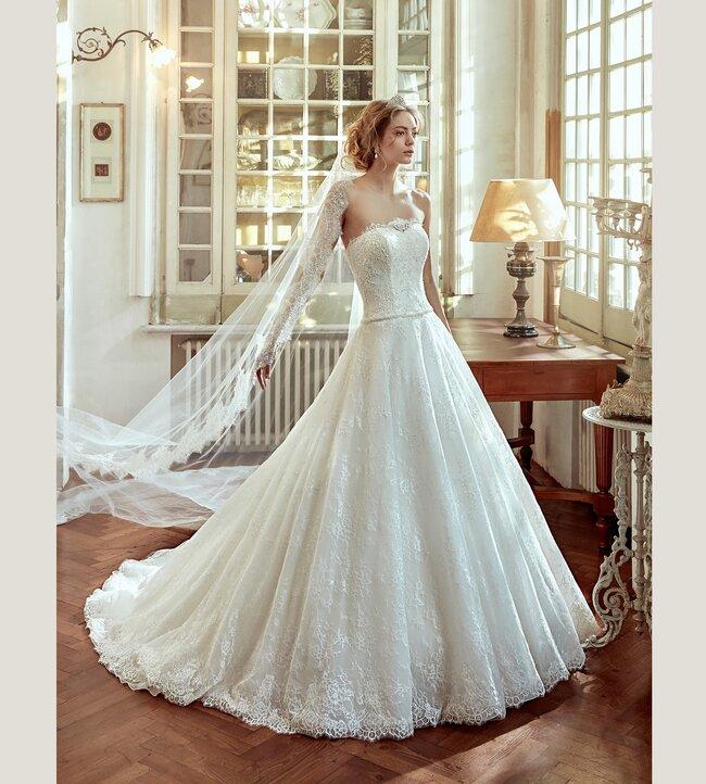 vestido de novia nicole