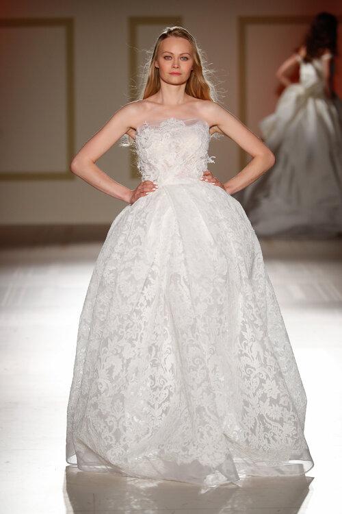 Como hacer vestido de novia corte princesa