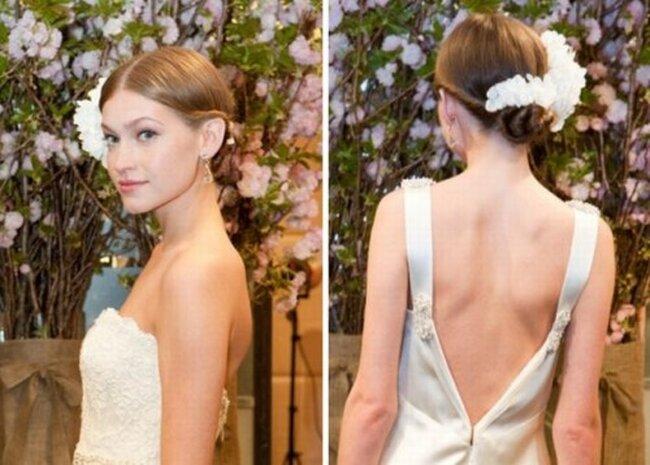 Acconciature per la sposa: tante idee dalle sfilate primaverili 2013