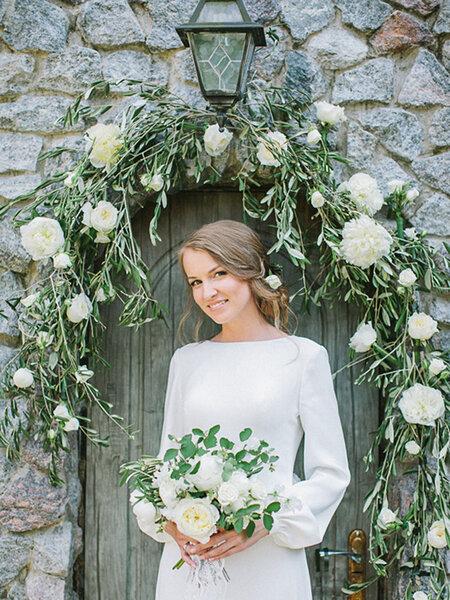 Hochzeitsthema Olivenbaum