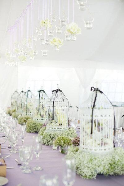 hochzeitsdekoration mit vintage vogelk figen flugs zum. Black Bedroom Furniture Sets. Home Design Ideas