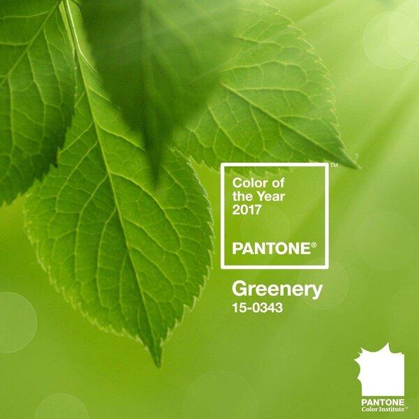Color Pantone 2017.
