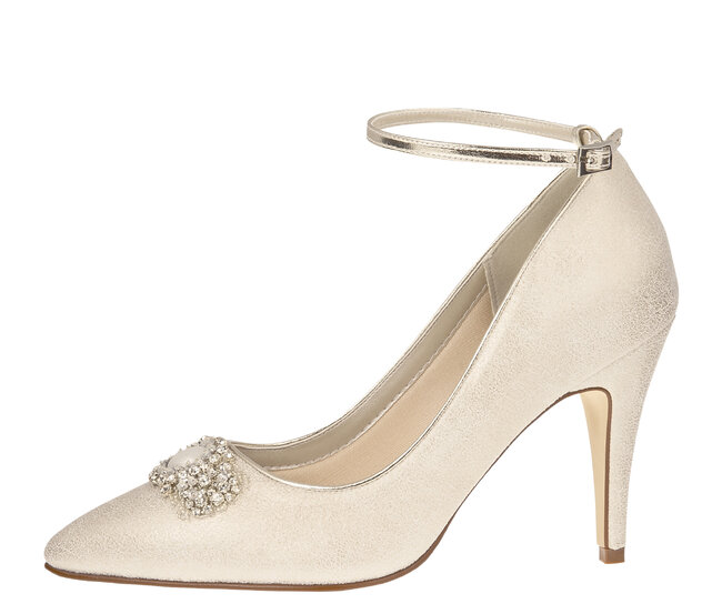 Champagne Coloured Wedding Shoes Australia