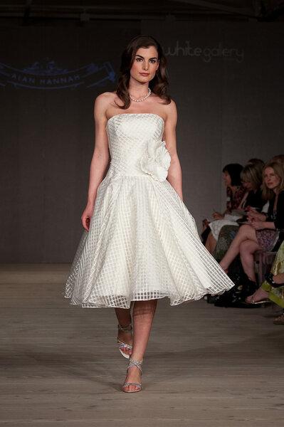 Suknia ślubna z kolekcji Alan Hannah