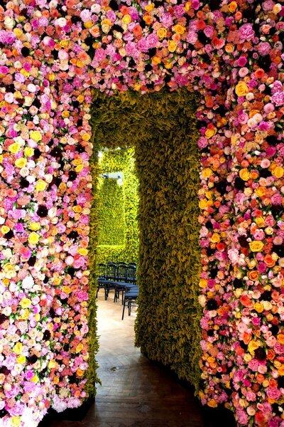 Decoraci n con flores naturales para la boda - Decoracion flores artificiales ...