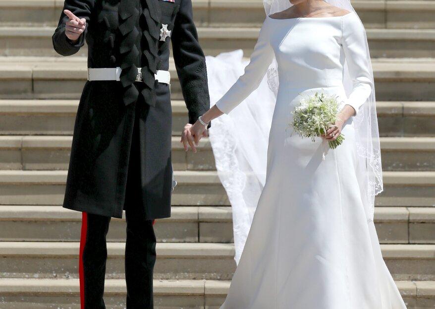Así son los dos vestidos de novia que Meghan Markle eligió para su boda