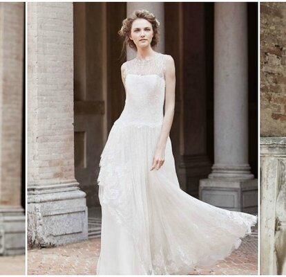 size 40 60513 54761 Alberta Ferretti 2016: abiti da sposa di puro romanticismo