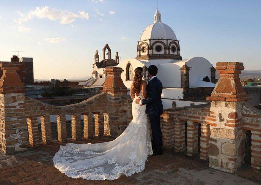 5 lugares de ensueño para una boda romántica en México. ¡Descúbrelos!