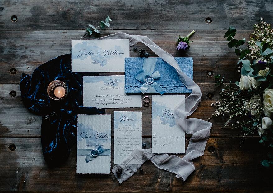 Faire-part de mariage haut de gamme: des invitations élégantes et sophistiquées !
