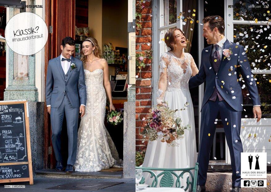 Haus der Braut in NRW: Brautmode für Sie & Ihn, die rundum begeistert