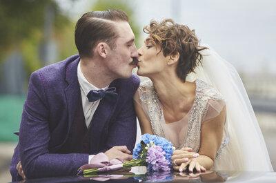 Шик ретро: стильная свадьба Александра и Ирины