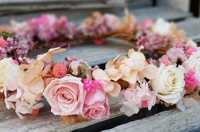 Personaliza tu boda con las mejores flores: ¡Te contamos de qué se trata!