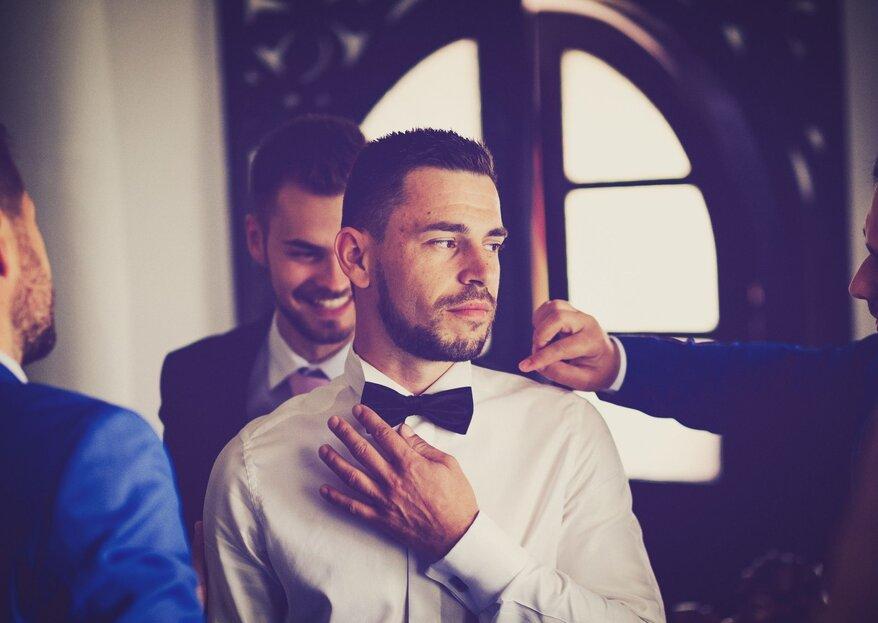 Come scegliere l'abito dello sposo per un matrimonio serale