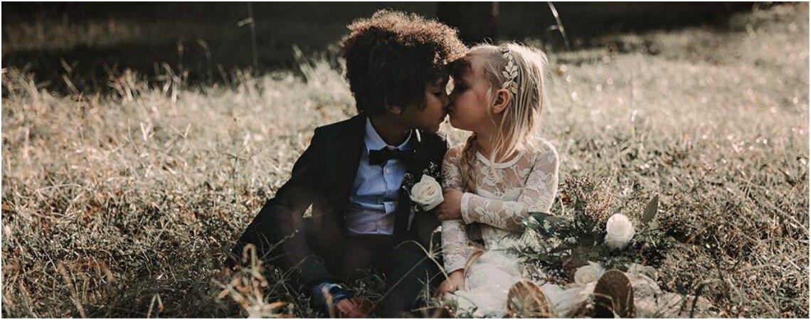 Niños grandes: esta es la mejor sesión de fotos de boda del año