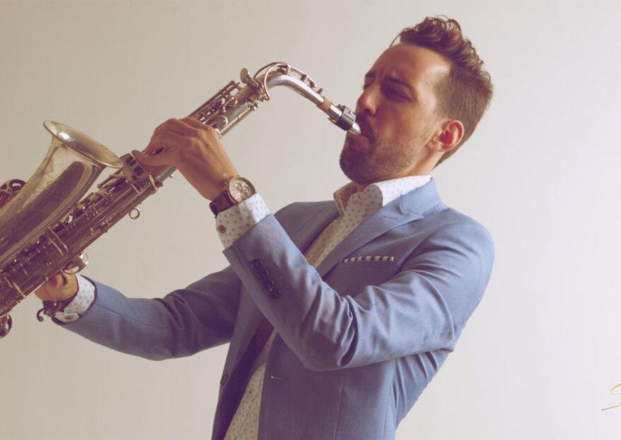 Lo mejor del saxo para tu boda con Santi Sax Music