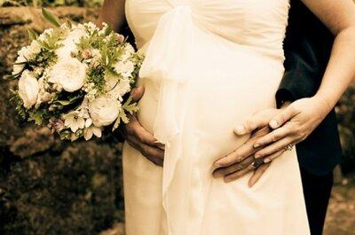 Originelle Hochzeitsgeschenke für eine schwangere Braut