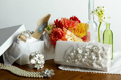 Sapatos de noiva Oscar de la Renta 2012: um sonho aos seus pés