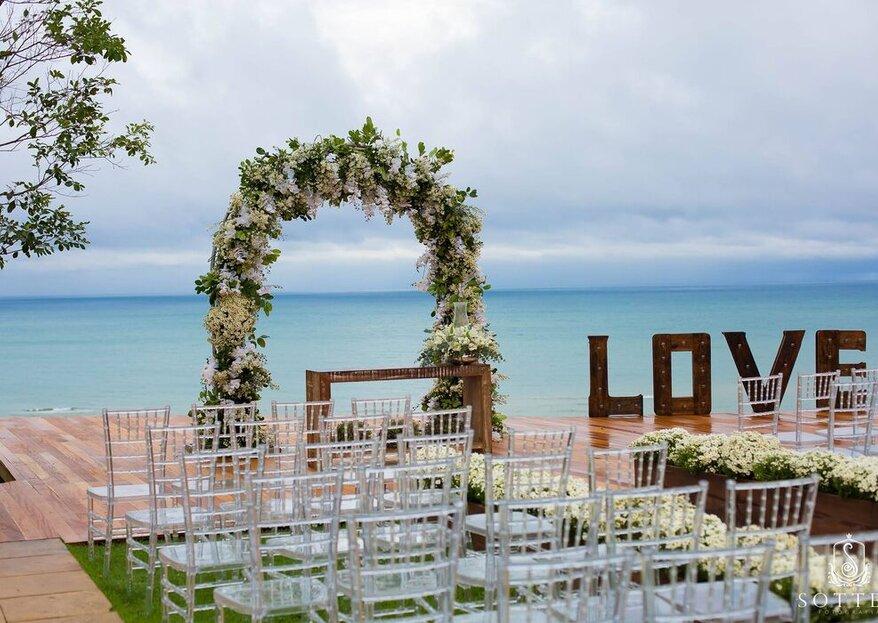 Céu de Pitinga: Destination wedding em um verdadeiro paraíso e do jeitinho que você sempre sonhou!
