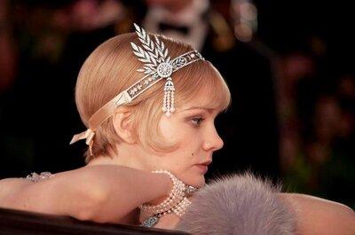 Gatsby le Magnifique a de quoi inspirer le look des mariées...