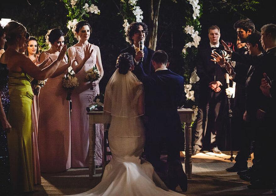 O casamento rústico chic de Bruna & Vitor: a história de amor que nasceu em uma nobre missão
