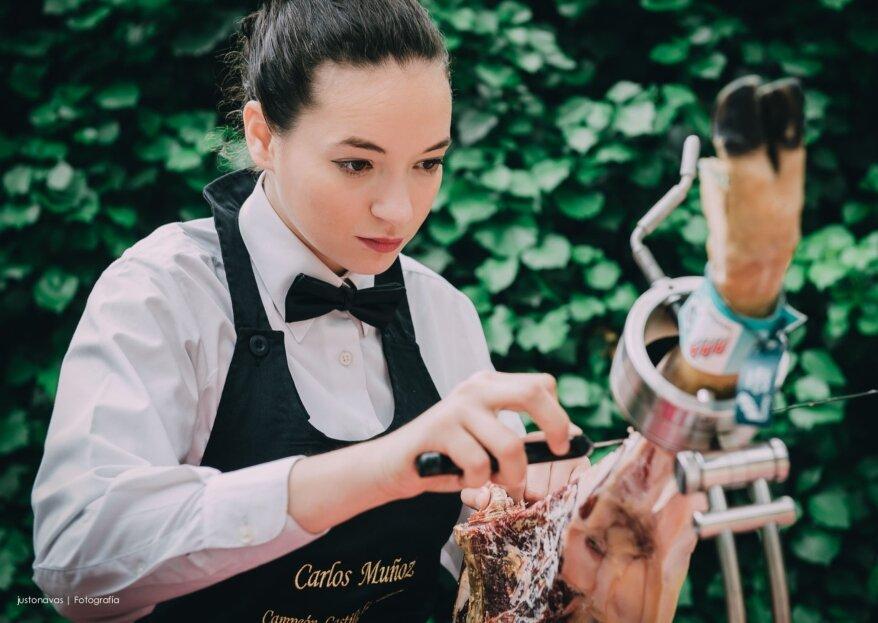 Donnez une touche espagnole à votre grand jour grâce à Raquel Acosta, maître coupeuse de jambon ibérique
