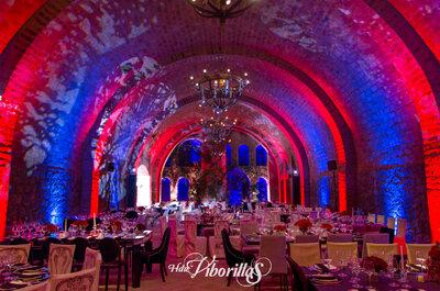 Tu boda en un lugar histórico, mágico, y único. ¡Será inolvidable!