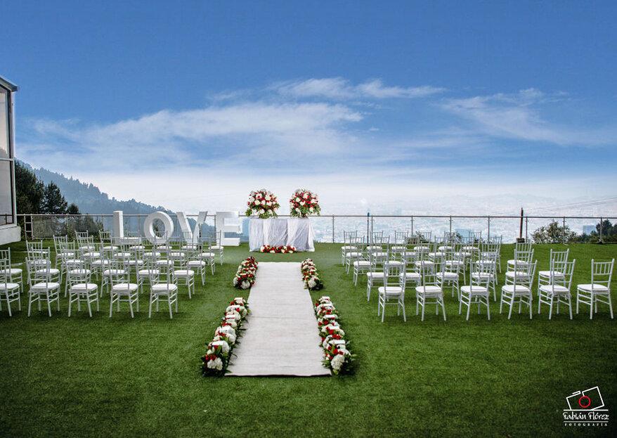 En Mont Celeste Bogotá, tu boda es una experiencia de amor, exclusividad y elegancia
