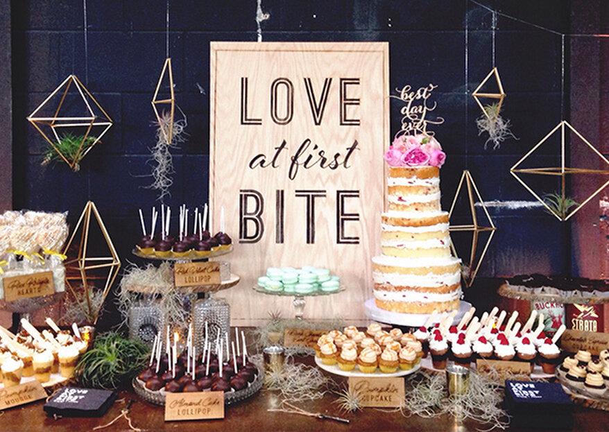 Molto più di uno sweet table: pop corn, zucchero filato, gelati...