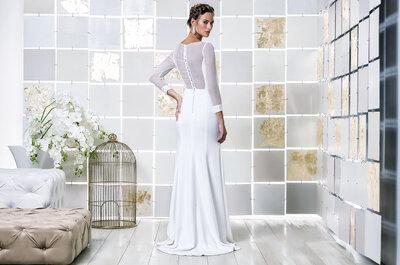 Vestidos de noiva de manga comprida: o seu charme não se esgota no Inverno!