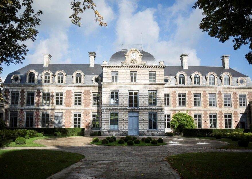 Le Château de Richancourt vous accueille dans son décor enchanteur