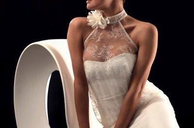 Legere und retro-schicke Brautkleider - Brautkleider Kollektion 2013 von Lambert Créations