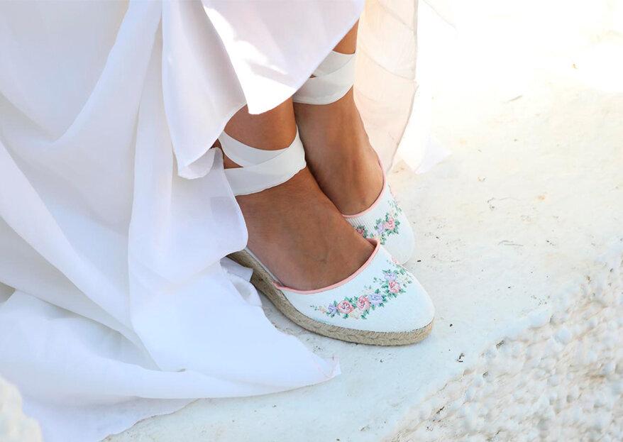 los zapatos de tu boda: luce cómoda y chic con los diseños de elenovari