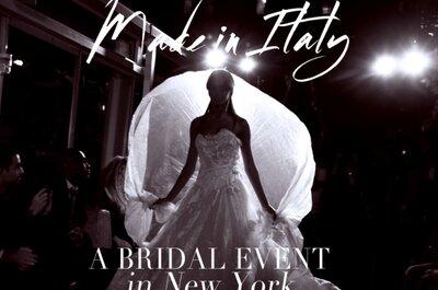 New York International Bridal Week 2014: con Sicily Fashion Project, va in scena il