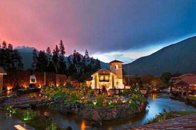 Los 10 mejores hoteles para recepción de matrimonio en Cusco