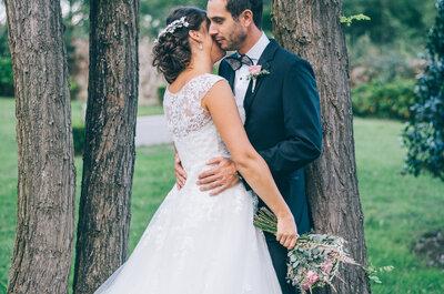 Celebrando una década juntos: la boda de Pau y Adri