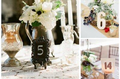 Rustikale Hochzeitsdekoration - für ein stimmungsvoll-natürliches Ambiente