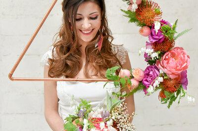 Mariage chic et romantique : craquez pour les somptueuses créations florales d'Aude Rose