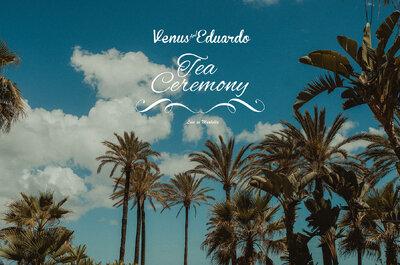 Tea Ceremony:de Lisboa para Marbella para celebrar o amor