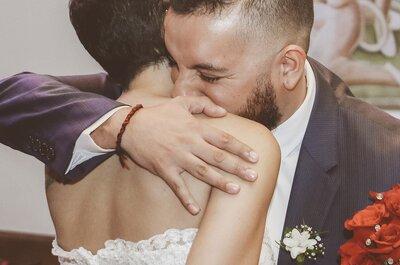 Lucho y Verónica: Química a primera vista y 100% amor para toda la vida