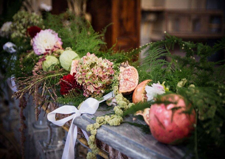 Inter'nOs Floral &  Wedding di Noemi Gorgoglione: creare le emozioni con le decorazioni
