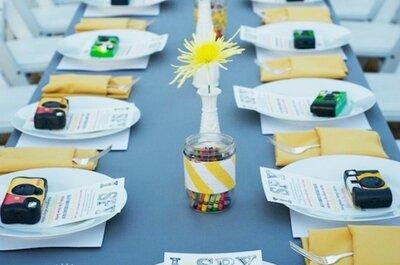 Mesa de niños en las bodas: ideas que te asegurarán la diversión