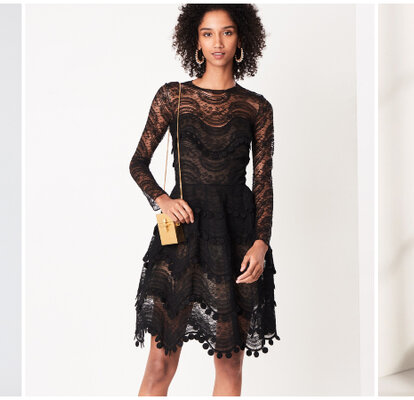 Vestidos de fiesta en color negro