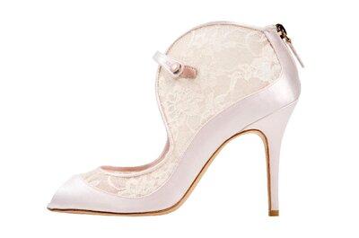 Zapatillas de novia 2014 de Monique Lhuillier