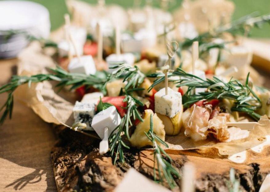 Что включить в свадебное меню: вкусные тренды 2019 года!
