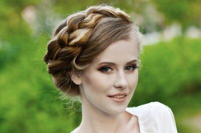 Peinados para novia con trenzas: La tendencia obligada del 2015