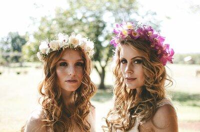 Como escolher a maquiagem e o penteados perfeitos para casamentos ao ar livre