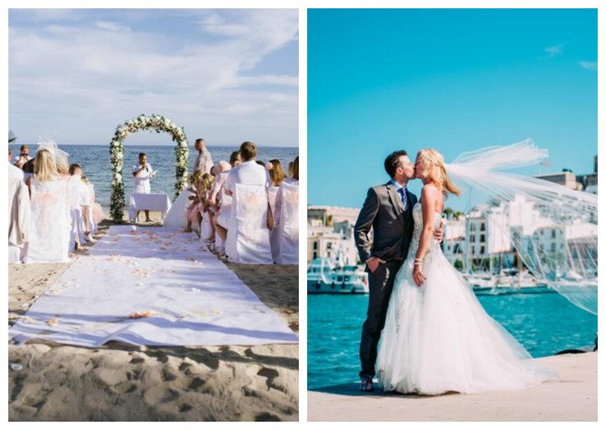 Trouwen in het buitenland: alle tips voor een buitenlandse bruiloft!