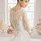 Свадебное платье с бантом на спине Rosa Clará