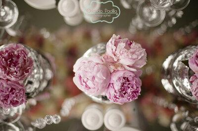 Real Wedding: Te aseguramos que jamás habías visto una decoración de boda tan hermosa... ¡Amarás el rosa!